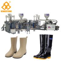 Best Rain / Water Boot / Gumboot/ mineral worker boot Dual Injection Molding Machine Rotary Type wholesale