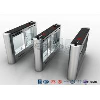 Best Anti - Collision Walk Through Metal Swing Barrier Gate Bus Station Card Reader System wholesale