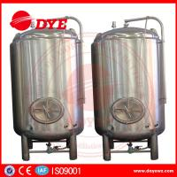 Best High Efficiency Small Bright Beer Tanks 2mm Thickness Easy To Operate wholesale