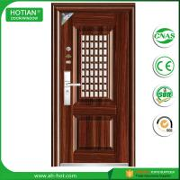 Best Latest design main gate steel security door wrought iron gate door design wholesale