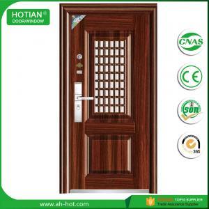 Best Latest design main gate steel security door wrought iron gate door design wholesale