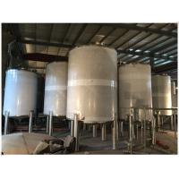 Best Stainless Steel LPG / Oxygen / Nitrogen Gas Storage Tank For Pharmaceutical Use wholesale