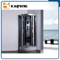 Cheap 900 Quadrant Steam Shower Cabin , Shower Steam Room Enclosures With Ceiling for sale