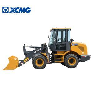 China OEM XCMG Backhoe Wheel Loader , Construction Wheeled Front End Loader on sale