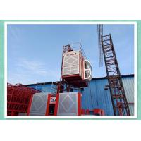 Quality High Speed Building Rack & Pinion Hoist , Construction Site Elevator wholesale
