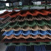 Best new innovation building material stone chips coated metal roof tile/roofing options/cost for roof replacement wholesale