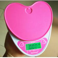 Best Heart Shape Electronic Food Weighing Scales Portable For Kitchen Use wholesale