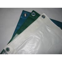 Best Anti - Mildew PVC Tarpaulin Fabric For Industry , Thick Heavy Duty Canvas Tarp  wholesale