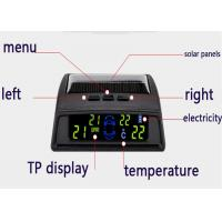 Quality 12V Solar energy Tyre Pressure Monitoring System waterproof tyre pressure sensors wholesale