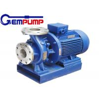 Best ISW Horizontal  Hot Water Booster Pump / Pipe Centrifugal Pump wholesale