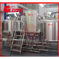 Best Commercial Beer Brewing Equipment High pressure Clean-in-place System wholesale