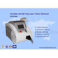 China Q-switched ND Yag Laser Tattoo Removal Machine Portable For Skin Pigment on sale