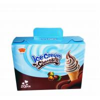 Best Fancy and Crisp Chocolate Candy Crisp Ice Cream Shaped Chocolate Dessert Cups wholesale