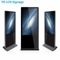 Best Free Standing Interactive Touch Kiosk With Light Box wholesale