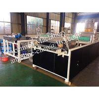 Best plastic PVC syntheic resin wave roof tile roofing material  roofing panel production line wholesale