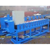 Best Roof Ceiling Roll Forming Machine , Omega Channel Roll Forming Machine For Furring Channel wholesale