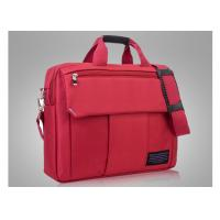 Best Foam padding red laptop bags for women with embroidery logo and reinforced handle wholesale