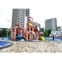 Best Big Steel Aquatic Play Structures Water House For Amusement Park wholesale