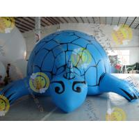 Best Digital Printing Blue Custom Shaped Balloons with Tortoise Shape made by 0.18mm PVC for Events SHA-16 wholesale