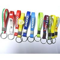 Best 2014 hot sale silicon keychain/ silicone key chain wholesale