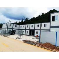 China Economical Practical Residential Moving Containers Steel Tube Cross Member Roof Panel on sale
