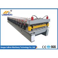 Best Blue and yellow double layer roof sheet forming machine / double layer roofing sheet roll forming machine wholesale