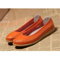 Best Ladies Flats Soft Comfortable Casual Shoes Flat Shoes Women Natural Leather wholesale
