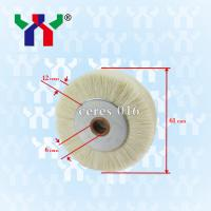hard bristle Brush wheel For Pressing Paper ceres 016