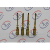 Best Small Metal Parts Copper Male Pins , Precision Machining Parts + - 0.1mm Tolerance wholesale