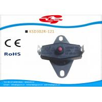 Best KSD302 series manual reset Snap Disc Thermostat / bi metal thermostat for heat protection wholesale