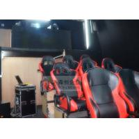 Cheap Hydraulic 5D Cinema System Digital Controlled with Special Effect System for sale