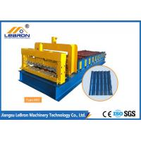 Best 6500mm Length Glazed Roof Tile Roll Forming Machine 1200/1000mm Material Width wholesale