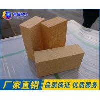 Quality SK - 34 Lightweight Refractory Bricks Brown Color Fire Resistant Bricks wholesale