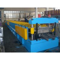 Best Automatic Floor Deck Roll Forming Machine With Ball Bearing Steel Roller wholesale