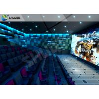 Best Lifelike Experience 4D Theater Seats Suitable For Hollywood Movies wholesale