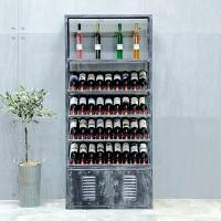 China Wine Display Stainless Steel Storage Shelves Sturdy Rust Proof on sale