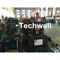 Best Carbon Steel Top Hat Channel Cold Roll Forming Machine With 1.5 Inch Chain wholesale