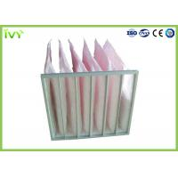 Best Secondary Efficiency Bag Replacement Air Filter 100% Max Relative Humidity wholesale