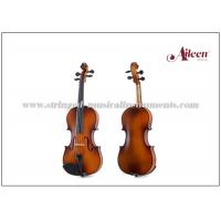 Best Reddish / Matt Brown Color Musical Instruments Violin For Beginners / Student 1/16 - 4/4 Size wholesale