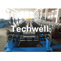Best Metal Roof Panel Roll Forming Machine / Double Layer Forming Machine With Hydraulic Cutting wholesale