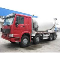 Cheap Guaranteed 100% authentic SINOTRUK HOWO 8x4 Concrete Mixer Trucks for sale