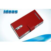 Best Red Sony Xperia Leather Case , Sony Xperia GX TX LT29i PU Leather Pouch wholesale
