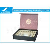 Quality recycled study magnetic gift box book shaped for perfume