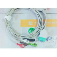 Best Gray Color GE One Piece Ecg Patient Cable For Patient Monitoring Devices wholesale