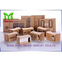 Best OEM Virtual Reality Cardboard Box Version VR BOX 2 . 0 Virtual Reality 3D Glasses wholesale