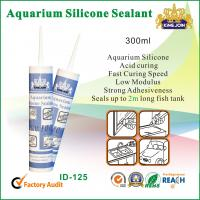 Best 300ml Waterproof Silicone Sealant / Heat Resistance Silicone Adhesive For Glass wholesale