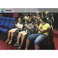 Best Mini Home Cinema 7d Interactive Theater , Luxury Seats 7d Cinema Equipment wholesale