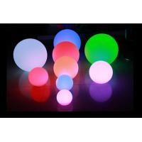 Buy cheap IP65 16 Color Changing LED Night Light Battery Operated / LED Floating Ball from wholesalers