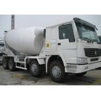 Cheap Mobile Concrete Mixer Truck ZZ1257N4047D1 25 Tons 336HP With Pump Euro 2 Emission for sale