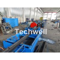 Best Galvanized Steel Cold Roll Forming Machine With High Speed 12-15m/min For Rack Box Beam / Step Beam wholesale